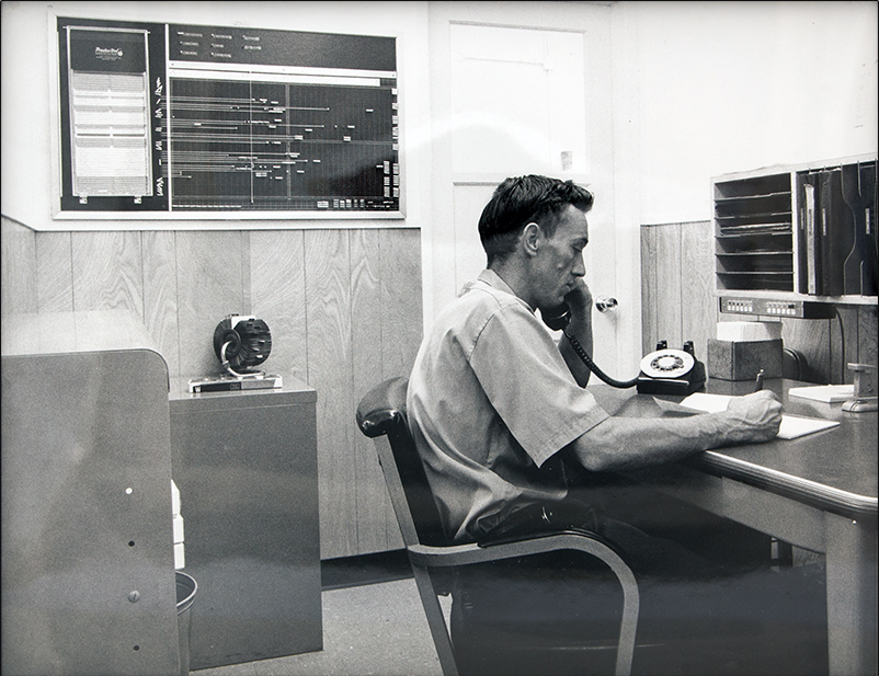 Ernie Smith - Thread Roll Production Control Manager