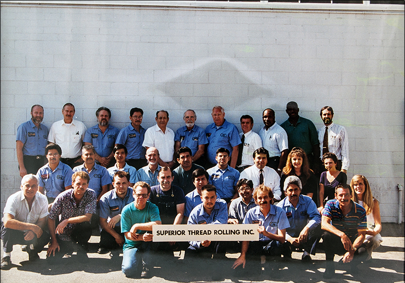 Group Photo outside 6926 Farmdale Plant